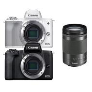 Canon EOS M50 Mark II+EF-M 18-150mm F3.5-6.3 IS STM 旅遊鏡組(公司貨 EF-M 18-150mm為平輸鏡頭)