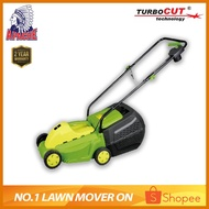 APACHE TurboCUT® ZF6117 Electric Grass Lawn Mower Trimmer Mesin Rumput Brush Cutter + FREE BLADE SET (INSTALLED)