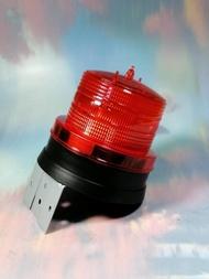 【太陽能光空警示燈-L型鐵片 LD-P01】913987 LED 太陽能充電 安全警示燈 夜間照明【八八八】e網購