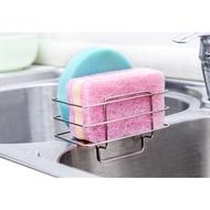 廚房不鏽鋼水槽瀝水架  不鏽鋼水槽海綿架
