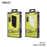 REMAX RPP-255 Series 2.1A 10000mAh Power Bank Portable Charger Battery Compatible with Samsung iPhone Huawei