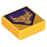 LEGO 樂高積木 1x1 Tile 印刷磚 印刷 Bull 公牛 3070 bpb108 70354 70322