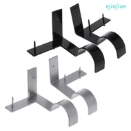 Cc 2 Useful Curtain Rod Holder Stand Solid Sturdy Home Curtain Rod Holder