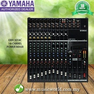 Yamaha EMX5014C 14 channel 1000W Powered Mixer (EMX 5014)
