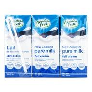 Meadow Fresh New Zealand UHT Packet Milk - Full Cream