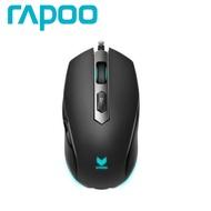 雷柏Rapoo VRPO V210 光學電競滑鼠-黑/3000dpi/全彩RGB