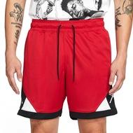 Nike AS M J DF AIR DIAMOND SHORT 男 紅黑 拼接 籃球 短褲 CV3087-687