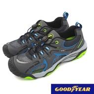 【MEI LAN】GOOD YEAR 固特異 機能 透氣 水陸兩用 護趾 運動鞋 排水 止滑 緩震 93628 灰藍