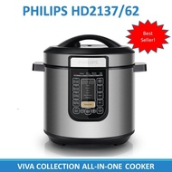 Philips HD2137/62 Viva Collection All-In-One Multi Cooker