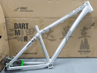 Special offer 15 Dartmoor Hornet 26 27.5 inch hard-tail AM mountain bike frame silver