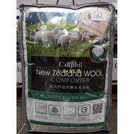 【小如的店】COSTCO好市多代購~CALIPHIL 純天然紐西蘭羊毛被/羊毛冬被-雙人加大(240*210cm)