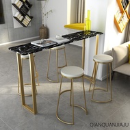 Qianquan Marble bar table dining table