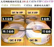[10G 新世代] 大同網路線真正CAT.6A頂極線材,超粗線徑9.8MM 大同CAT.6A,非CAT.6e CAT.6