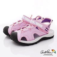 雨傘牌 護趾運動涼鞋款 EI93853粉(中小童段)