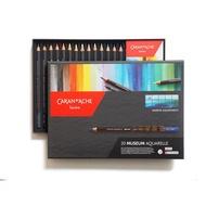 【汶采】卡達博物館級水溶性色鉛筆20色 海景