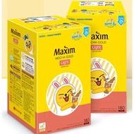 現貨空運 韓國 Maxim 三合一咖啡原味減糖11.8g/包 三合一白金咖啡11.7g/包 二合一冰黑咖啡5.9g/包