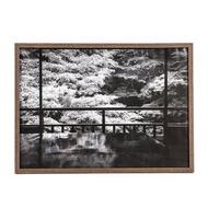 HOLA 壁掛/桌立兩用相框深木色 A3
