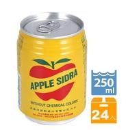 (只有送高雄)任挑5箱以上送到家(限高雄) 蘋果西打250ml(24入/箱)