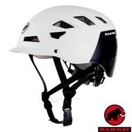 【瑞士 MAMMUT 長毛象】新款 El Cap 安全頭盔.岩盔.攀岩頭盔.登山帽創新的2K-EPS核心/登山.攀岩/2030-00091-0246 白/黑