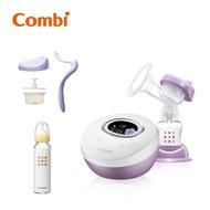 Combi 自然吸韻單邊電動吸乳器Light! 送手動配件組+240ml奶瓶
