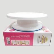 【滿百出貨】10吋防滑蛋糕裝飾轉台 蛋糕轉盤 裝飾台 蛋糕展示台
