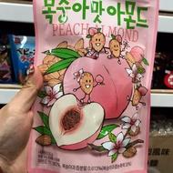 韓國水蜜桃優格 草莓奶茶風味杏仁果