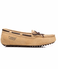 Lace Summer Moccasin (Water Resistant) - Chestnut