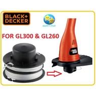 RS300 BLACK & DECKER SPOOL & LINE - 5170001-39 FOR GL300 / GL260 GRASS TRIMMER SPOOL REFILL NYLON STRING SPARE PART