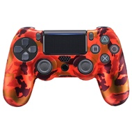 Camouflage Style Silicone Gel Controller Case Skin Shell Cover Sleeve Protector Compatible with Sony PlayStation 4 PS4 Pro Slim Controller