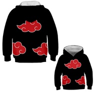 Anime Naruto Children's Hoodie 3D Pullover Jacket for Kids Pullover Jacket For Kids Kakashi Uzumaki Naruto Cosplay
