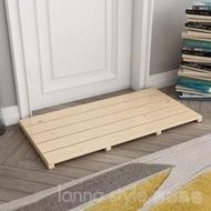 訂製實木腳踏板 浴室地墊防滑板 浴室踏板 衛生間廚房墊腳板木踏板 LannaS YTL