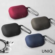 【UNIQ】AirPods Pro Vencer 3代全包藍牙耳機矽膠保護套 配掛鉤防丟線(airpods Pro)