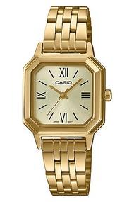 CasioStandard นาฬิกาข้อมือผู้หญิง สายสแตนเลส รุ่น LTP-E169