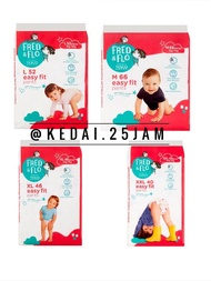[t1] Disposable Diapers : Tesco Fred & Flo Easy Fit Baby Diaper Pants