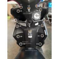 ♠mio i 125 bodyscrew for fairings (sold per set)⊿