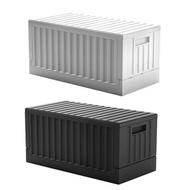 《真心良品x樹德》歡樂派對貨櫃屋組裝收納箱1入組白色