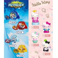2019麥當勞兒童餐玩具 戰鬥陀螺&Hello kitty 現貨單售賣場