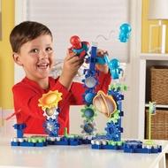 【Learning Resources】齒輪遊戲-太空 塑膠積木STEAM想像創造幼兒園保姆(益智成長 邏輯建構 原裝進口)