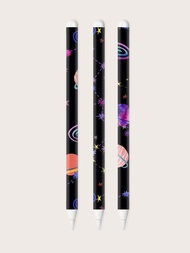1sheet Planet Pattern Apple Pencil 2nd Sticker