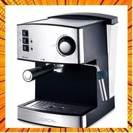 เครื่องชงกาแฟ เครื่องชงกาแฟสด เครื่องชงกาแฟเอสเพรสโซ 850W/16L การทำโฟมนมแฟนซี เครื่องทำกาแฟขนาดเล็ก กรณีสินค้ามีสี ไซท์ เ