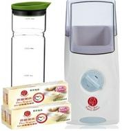 【普羅拜爾】優格DIY系列(普羅優菌3盒+普羅優格機+優水瓶玻璃瓶組)~低溫配送