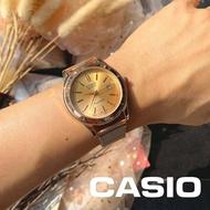 Casio นาฬิกาข้อมือชาย หญิง  สายสแตนเลส พร้อมส่ง