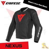 ~任我行騎士部品~ 2019 Dainese Nexus Leather Jacket 黑紅 皮衣 防摔衣 丹尼斯