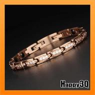 能量手鍊能量手環甜美水鑽細手鍊飾品鈦鋼手鍊飾品奧地利水晶-金/銀/玫瑰金【AAA3238】