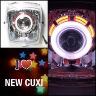 7號工廠 NEW CUXI 115 110 魚眼 大燈 +工資+全配 QC 1CF 1SH B2B 2018 2019