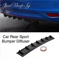 SG Instock! Car Bumper Diffuser / Bumper Fin Blade