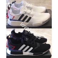 EF0753 R1 黑紅 EF2357 Adidas 男女鞋 NMD 白紅 日文 日本限定 Boost 黑白