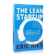 Eric Ries The Lean Startup English Books Growth Mindset Start-ups Entrepreneur Successful Businesses Adult Encouragement Books