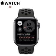【限時95折】Apple Watch Nike + SE GPS + LTE版 44mm 太空灰配黑色 Nike 運動錶帶 (MG0A3TA/A)
