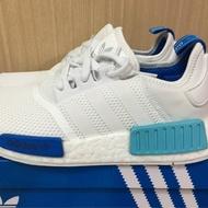 全新正版 絕版 Adidas Nmd R1 白藍 粉藍 湖水藍 網面 聖保羅 3M 反光 BOOST 慢跑 男女鞋現貨